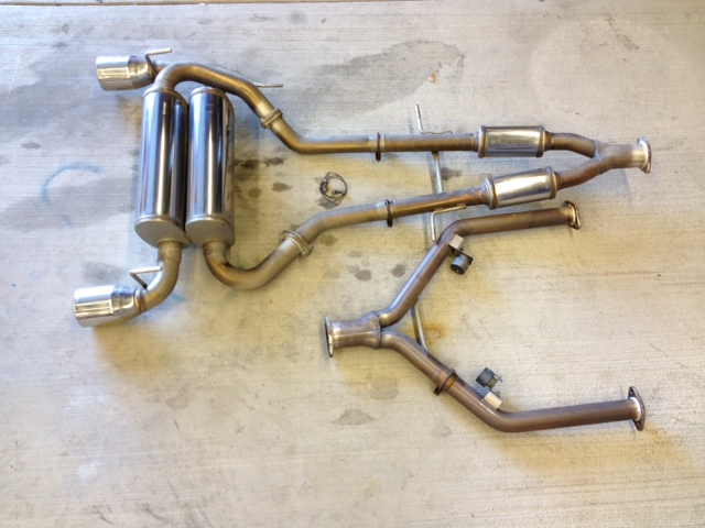 Nissan 370Z Stillen Dual Exhaust - 370z com - 370z com Forums - 370Z